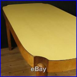 Table italienne meuble design style Gio Ponti en bois moderne salon 900